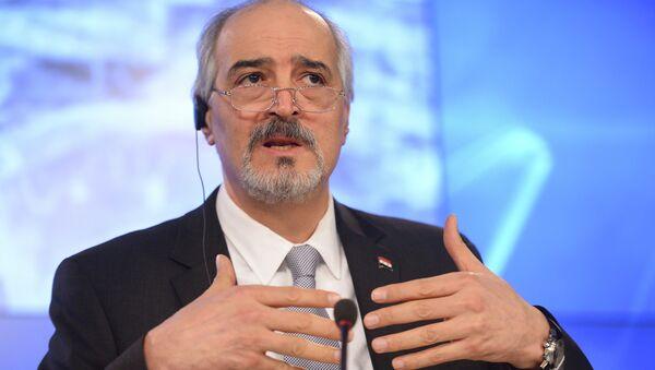 Глава делегации правительства Сирии Башар Аль-Джаафари. Архивное фото