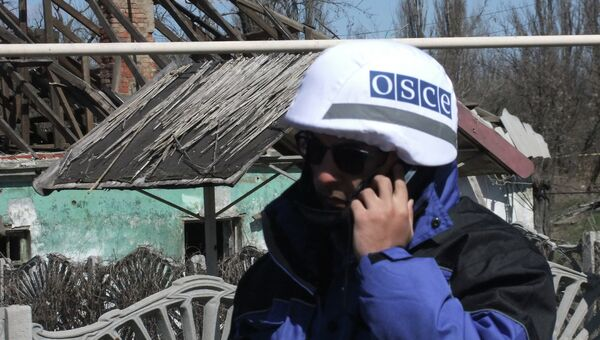 Представители ОБСЕ. Архивное фото