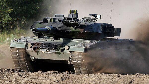 Танк Leopard-2. Архивное фото
