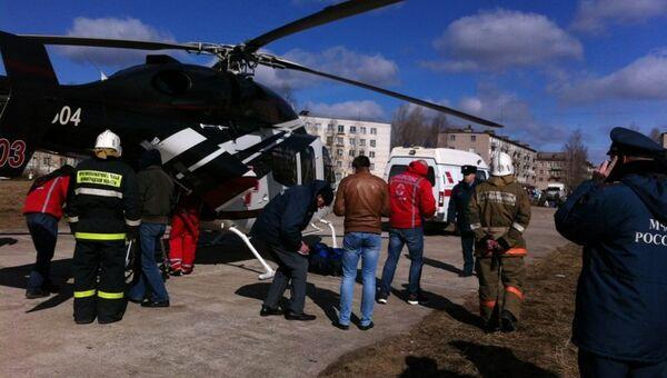 Доставка пострадавших в ДТП в Ленинградской области в больницы
