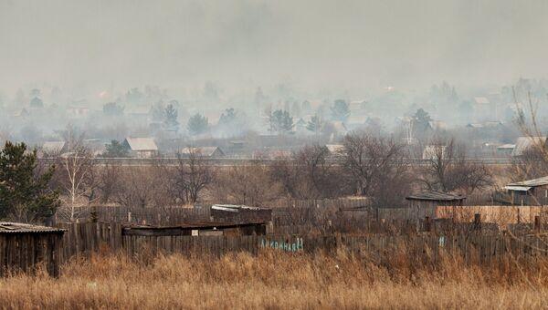 Пожары в Абакане
