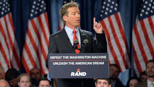 Американский сенатор Рэнд Пол. Архивное фото