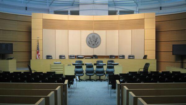 Зал судебных заседаний в США. Архивное фото