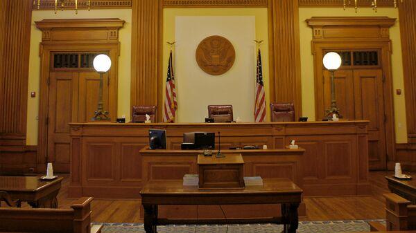 Зал судебных заседаний в США