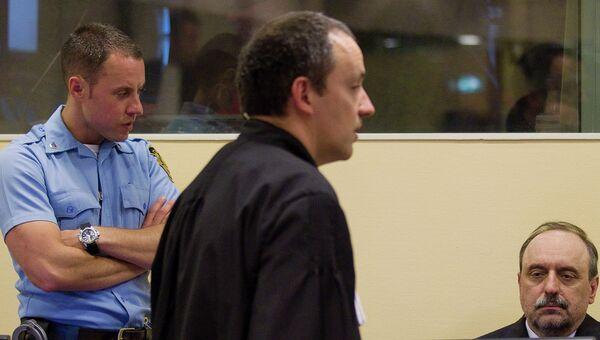 Экс-президент самопровозглашенной республики Сербская Краина Горан Хаджич. Архивное фото