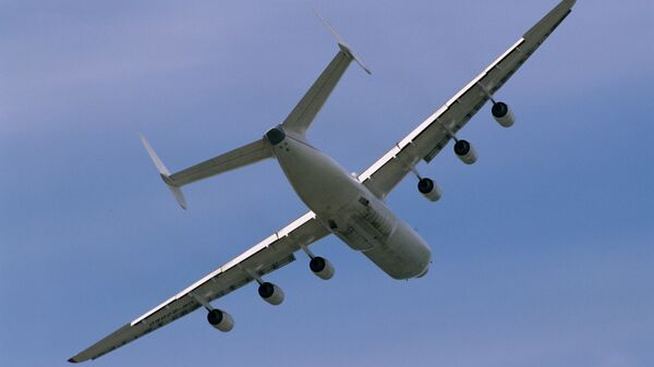 Тяжелый транспортный самолет Ан-225 Мрия