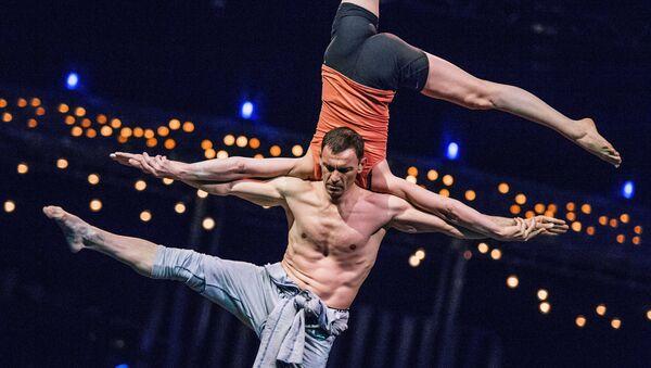 За кулисами шоу театра Cirque du Soleil Rus. Архивное фото