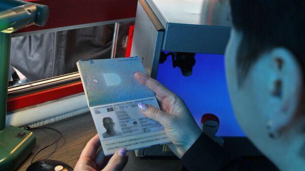 Паспортный контроль на международном автомобильном пункте пропуска Морское - Нида