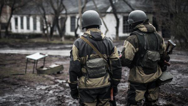 Ополченец Донецкой народной республики. Архивное фото