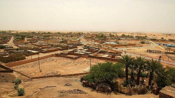 Город Иллизи на юге Алжира