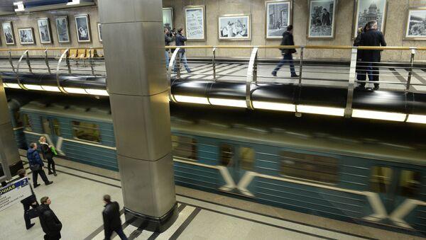 Станция метро Выставочная. Архивное фото