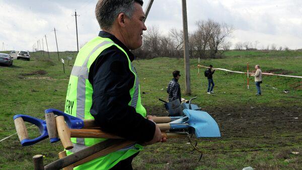 Эксперты из Нидерландов и Малайзии посетили место крушения Боинга в Донецкой области
