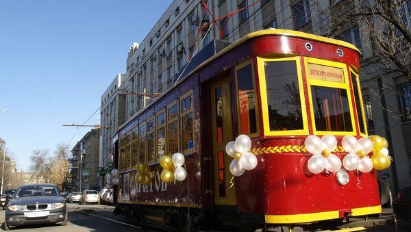 Первый саратовский трамвай – действующий музейный экспонат