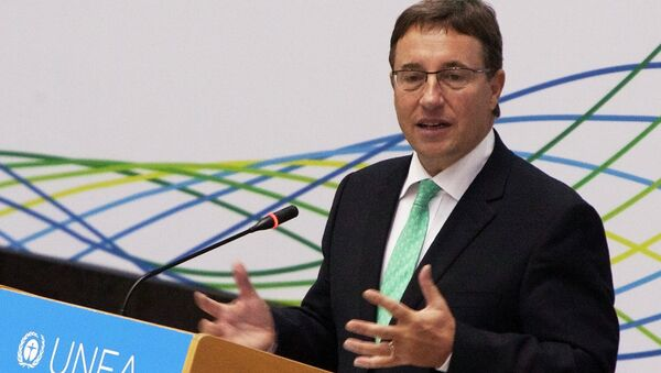 Исполнительный директор Программы ООН по окружающей среде (ЮНЕП) Ахим Штайнер