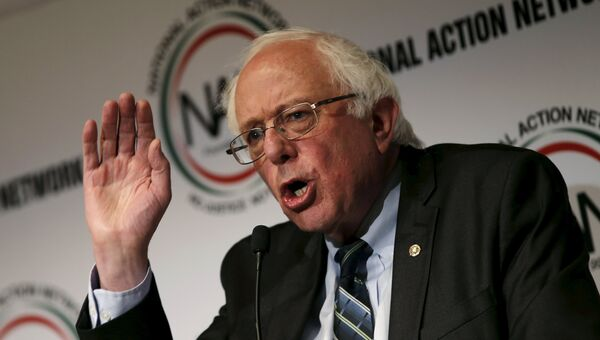 Сенатор Берни Сандерс, США