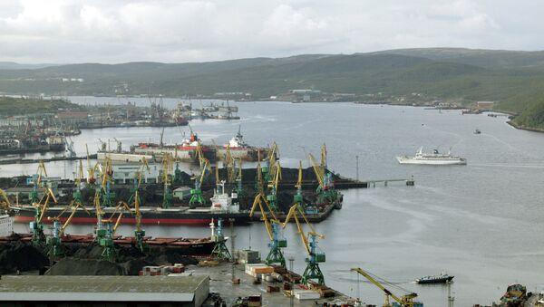 Морской порт, Североморск