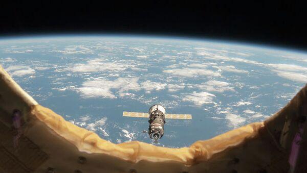 Космический грузовой корабль Прогресс. Архивное фото