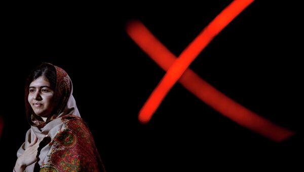 Пакистанская правозащитница Малала Юсуфзай. Архивное фото