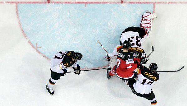 Чемпионат мира по хоккею. Чехия. Сборные Германии и Канады