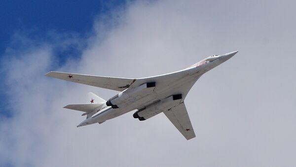 Самолет Ту-160. Архивное фото
