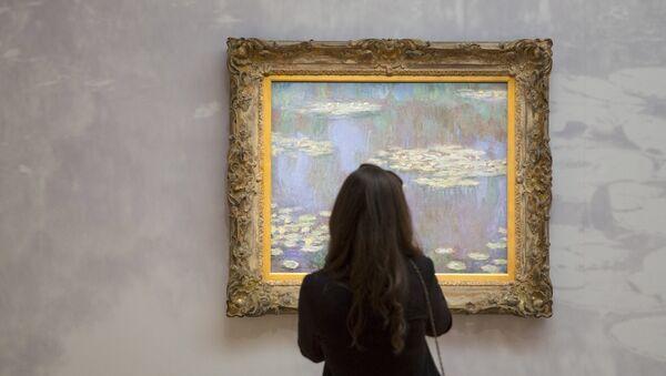Картина Клода Моне Водяные лилии  на аукционе Sotheby's