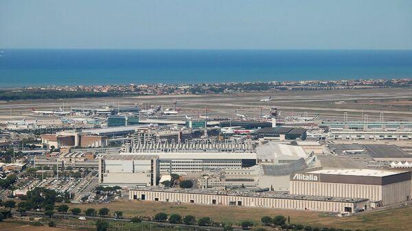 Международный аэропорт имени Леонардо да Винчи в Риме. Архивное фото