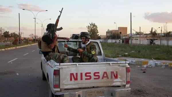 Патрулирование улиц Тикрита, Ирак