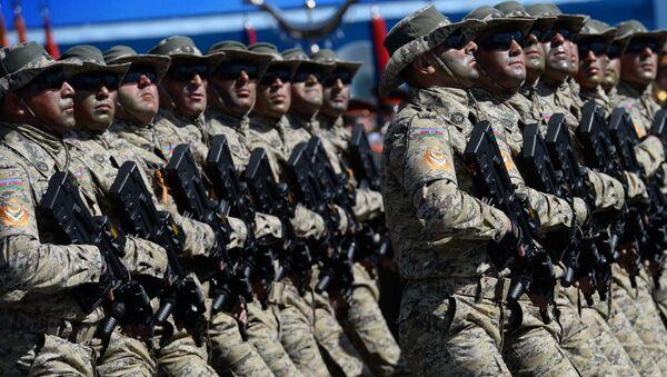 Военнослужащие Национальной армии Азербайджана. Архивное фото
