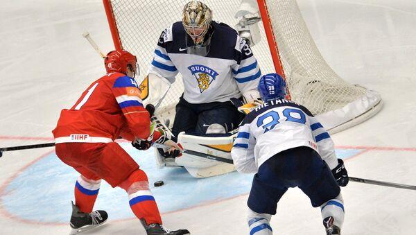 Хоккей. Чемпионат мира - 2015. Матч Финляндия - Россия