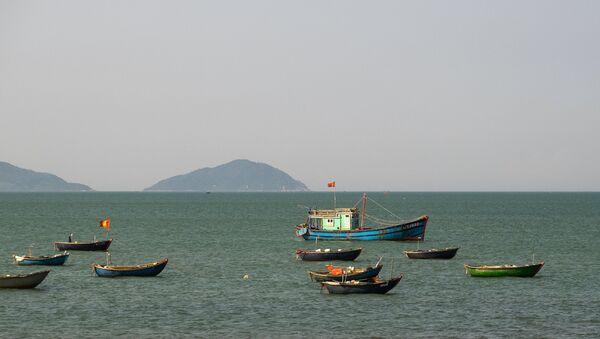 Вид на Южно-Китайское море, архивное фото