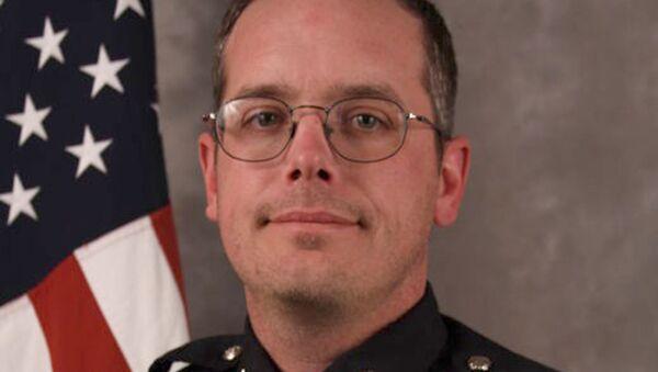 Полицейский Мэтт Кенни, застреливший чернокожего подростка Тони Робинсона. Архивное фото
