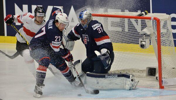 Хоккей. Чемпионат мира - 2015. Матч США - Швейцария