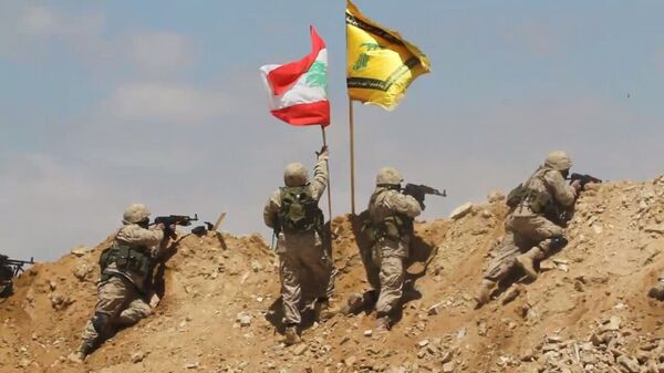 Бойцы ливанского движения Хезболлах. Архивное фото