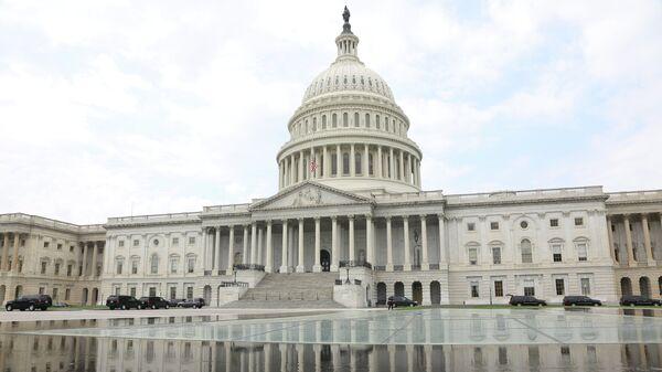 Конгресс США на Капитолийском холме в Вашингтоне, США