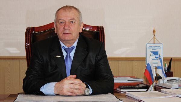 Гендиректор завода Янтарь Олег Шумаков