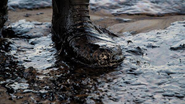 Утечка нефти в США