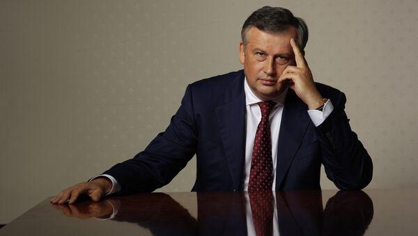 Временно исполняющий обязанности губернатора Ленинградской области Александр Дрозденко