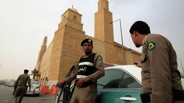 Сотрудники полиции Саудовской Аравии