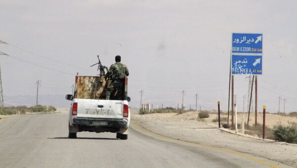 Сирийские военные. Архив