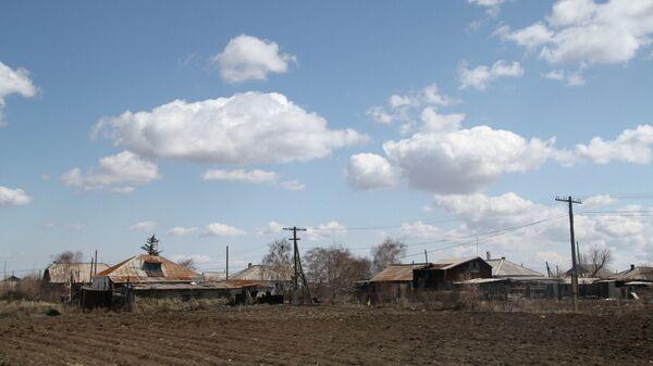 Село Калачи Акмолинской области Казахстана, жители которой страдают от загадочной «сонной болезни»