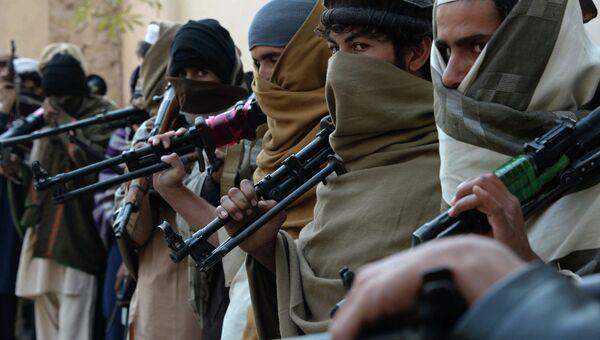 Члены движения Талибан* в Афганистане. Архивное фото