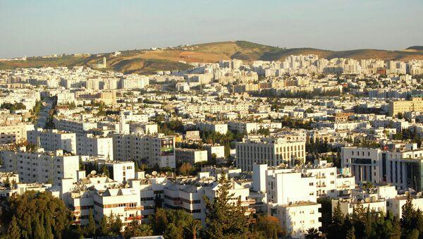 Вид города Тунис. Архивное фото