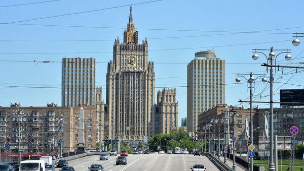 Здание Министерства иностранных дел РФ в Москве. Архивное фото