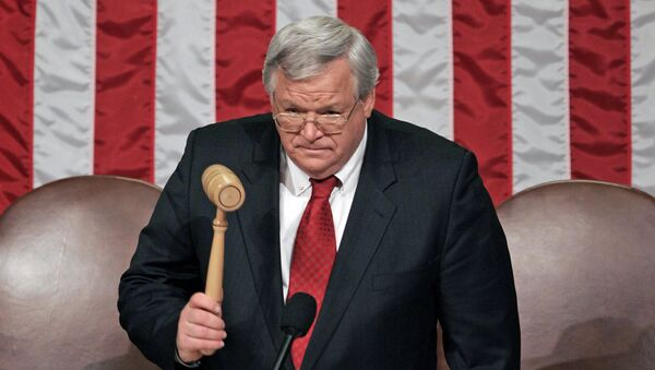 Бывший спикер палаты представителей конгресса США Деннис Хастерт