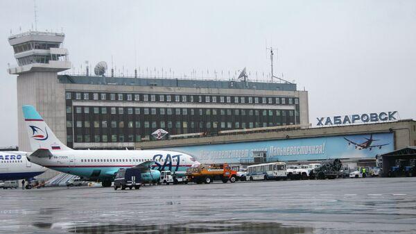 Аэропорт Хабаровска. Архивное фото