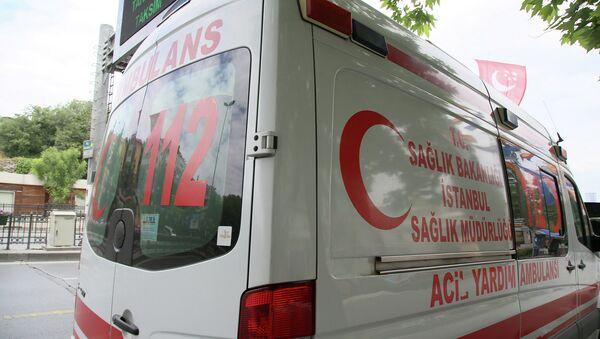 Скорая помощь Турции. Архивное фото