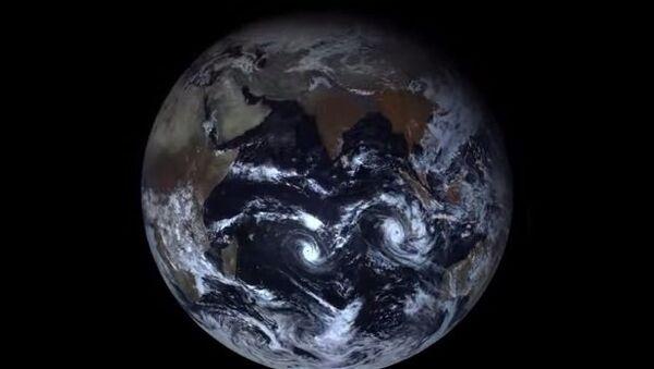 Планета Земля – вид из космоса