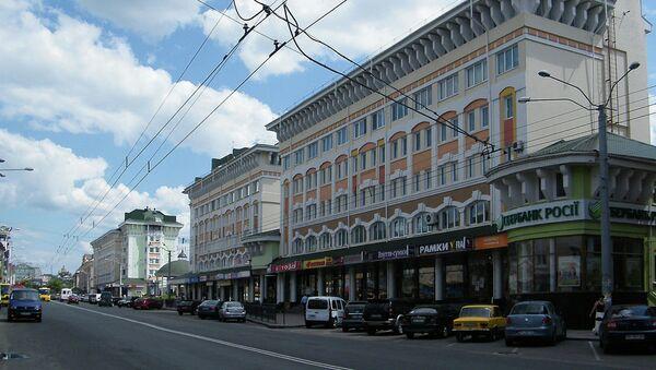 Соборная улица города Ровно, Украина. Архивное фото