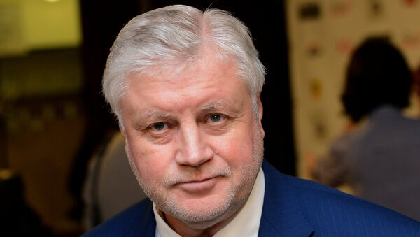 Сергей Миронов. Архивное фото
