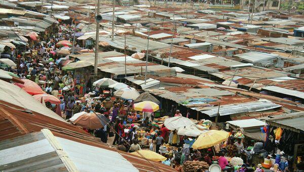 Гана, Африка. Архивное фото